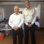 Bank Manager drops in to Herefordshires leading design agency... Charles Tyrwhitt shirts all round