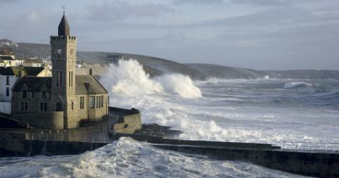 Porthleven Storm c Istock