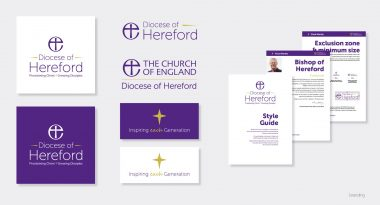 The Diocese of Hereford - Branding