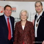 Opening Hereford Expo - With Lady Darnley and Mike Ashton Chamber CEO